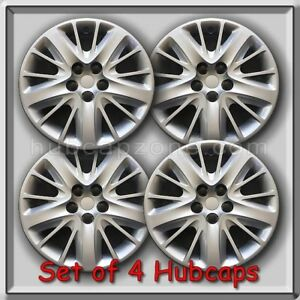 18 Silver Bolt On 2015 2016 Chevy Chevrolet Impala Hubcaps Wheel Covers Set 4