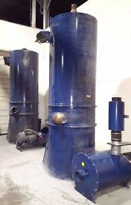 Bag House Dust Collector 30 Hp W Automatic Filter Cleaning Spencer Vacuum