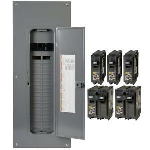 200 Amp Indoor Power Neutral 80 circuit Breaker Load Center Electrical Panel Box