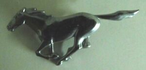 Oem Vintage Car 1969 Ford Mustang Horse Emblem Detail Free Shipping Used