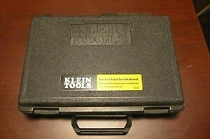Klein Tools 53732 Knockout Punch Set With Wrench