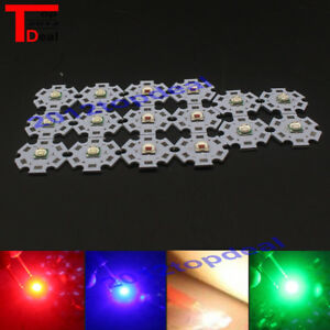 10w 5050 Emitter Diodes Red Green Blue Uv White 32 3 6v 3a Led 20mm Star
