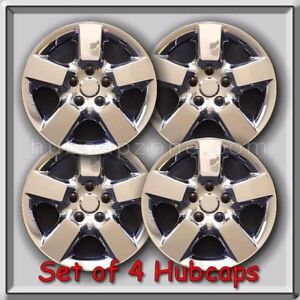 2013 2014 Nissan Rogue Hubcaps 16 Chrome Hub Caps Fits Rogue Wheel Covers Set 4