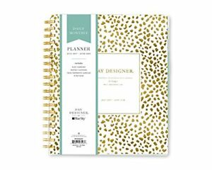 Day Designer For Blue Sky 2017 2018 Academic Year Daily Monthly Planner Twi