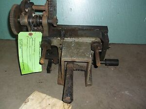 Clausing 13 Model 1300 Metal Lathe Quick Change Gearbox For Threading