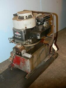 Alcoa Hydraulic Gas Driven Pump Portable Crimper
