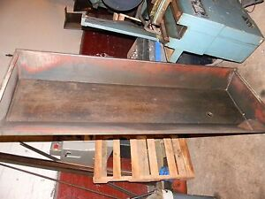 Clausing Colchester Chip Pan For 17 Inch Lathe 72 Inches Long