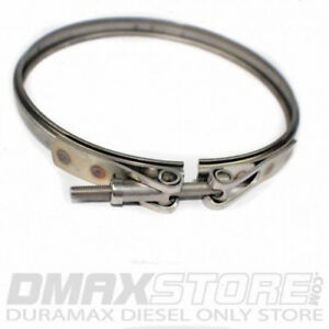 Main Body Turbo V band Replacement Clamp For Any 2004 5 2010 6 6l Duramax Diesel