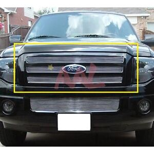 Aal 2007 2010 2011 2012 2013 Ford Expedition 4pcs Upper Billet Grille Insert