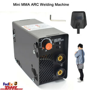 Mini Mma Electric Welder 220v 10 200a Inverter Portable Arc Igbt Welding Machine