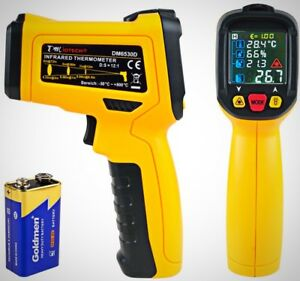 Dmiotech Temperature Gun Non Contact Digital Laser Infrared Thermometer New