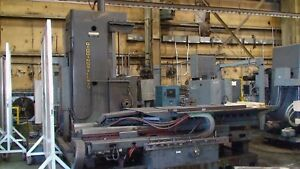 15853 5 Giddings Lewis Model 65 h5 t Cnc Table Type Horizontal Boring Mill