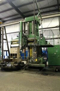 17687 O m Model Tms 20 40 Open Side Vertical Boring Mill