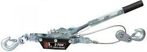 Come Along Cable Puller 2 hooks 2 ton Capacity Aircraft quality Heavy Duty