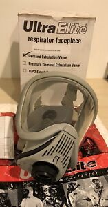 Msa Ultra Elite Respirator Facepiece Hycar Full Face 810159