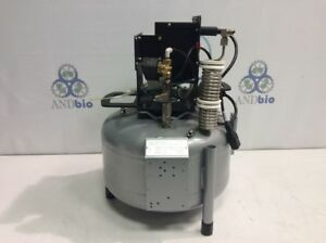 Ultra Quite Compact Air Compressor With Tank Small Foot Print Very Clean