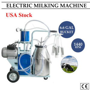 10 12cows hour Milking Machine Electric Cow Milking Machine Dairy Farm Milker