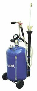 Aoe1030 Waste Oil Air Drainer Tank 30l Portable Suction Tool Probes Pneumatic