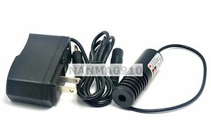 2260 Focusable 100mw 850nm Ir Infra red Laser Dot Module W 5v Ac Adapter