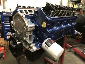 351w Roller Ford Long Block With Free Engine Cradle Direct Bolt In With Pan