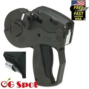 Price Marker Tag Gun Handheld Labeller 8 Characters Label Size Office Store