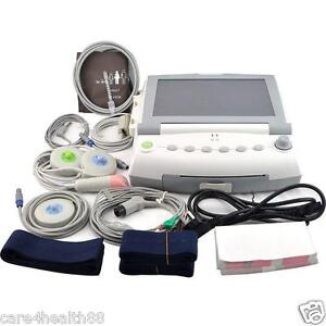 Patient Maternal Fetal Monitor Fhr Toco Twins Single Fetal Movement 9 Parameters