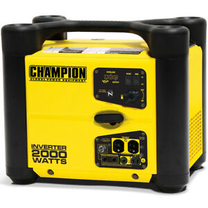 Champion 73536i 1700 Watt Inverter Generator W Parallel Capability