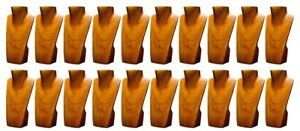 12 Wood Necklace Display 20 Pc Set Free Shipping