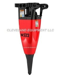 Rammer Br 522 Hydraulic Breaker Attachment Concrete Bobcat Mini Excavator In22