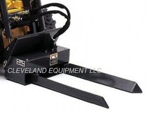 Bradco Mini Tree Fork Nursery Forks Attachment Ditch Witch Skid Steer Loader