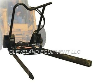 Bradco Tree Nursery Forks Attachment Bobcat Skid Steer Loader Tree Ball Jaws