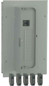 Indoor 100 Amp Load Center Panel Box Copper Buss Bar 20 Space 5 Circuit Breakers