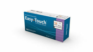 Easy Touch high Quality Sterile Hypodermic Needles 16 G X 1 5 40mm 100 Box