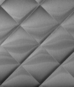 22ga X 48 X 120 Quilted Stainless Steel Sheet 4 Finish