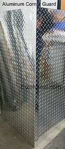 0 063 4ft Aluminum Diamond Plate Outside Corner Guard 3003 H22 1 5 x1 5 x48