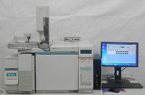 Agilent Hp 6890n Gas Chromatograph With 5973n Msd Mass Spec 6890