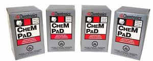 Chempads By Itw Chemtronics Cp400 Pre saturated Alcohol Wipes 200 Pads