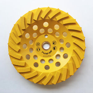 New 7 24 Turbo Segments Edco Diamond Grinding Cup Wheel W pin Hole The Best