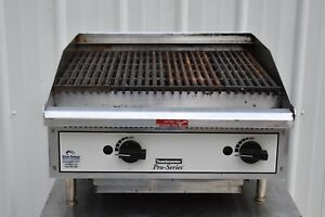 Toastmaster Tlc24 24 Gas Lava Rock Charbroiler