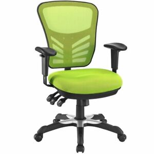Modway Articulate Mesh Office Chair In Green