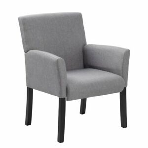 Boss Office Contemporary Guest Chair In Gray