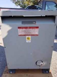 General Electric 9t23b4004g23 Transformer 3 Phase 480v 230v