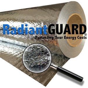 Radiant Barrier Insulation Radiantguard Classic 1000 Sf Reflectivity Of 95
