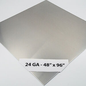 Economy Stainless Steel Sheet 24ga X 48 X 96 4 Brushed Finish