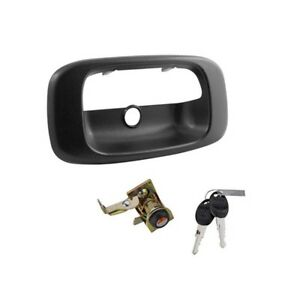 Bully Tailgate Tail Gate Lock Handle Cover For Chevy Silverado Gmc Sierra