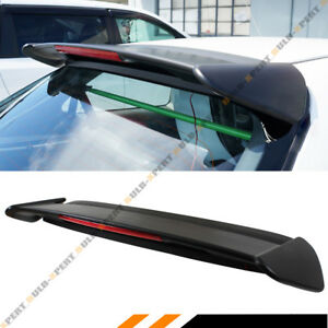 For 96 00 Civic Ek Ek9 3dr Hatchback Type r Style Roof Spoiler Wing W Led Light