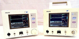 Philips A3 Color Patient Monitor M3929a Lot Of 2