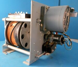 Superior Electric Co Slo syn Ss50 p2 Sync Motor And Powerstat Variac Assembly