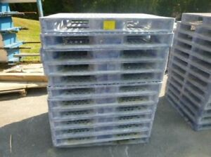 Orbis 40 X 48 Hdsc Plastic Stackable Pallets Hdpe 4 way Entry 40 Base Dime
