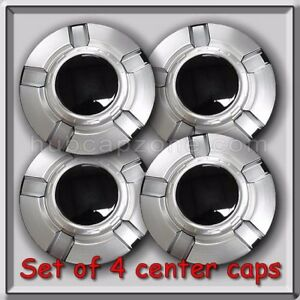 2010 2011 Chevy Silverado 1500 18 Wheel Center Caps Aluminum Chevrolet Hubcap 4